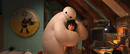 Film still from the animated film Big Hero 6