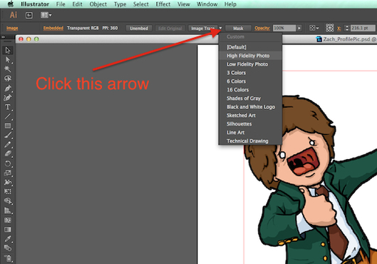 Line Art Converter Software : Psd to vector with illustrator cleveland institute of art college