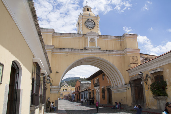 The Antigua Arch.