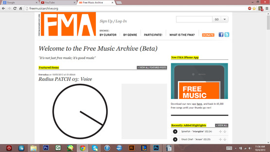 <strong>www.freemusicarchive.org</strong><br />
