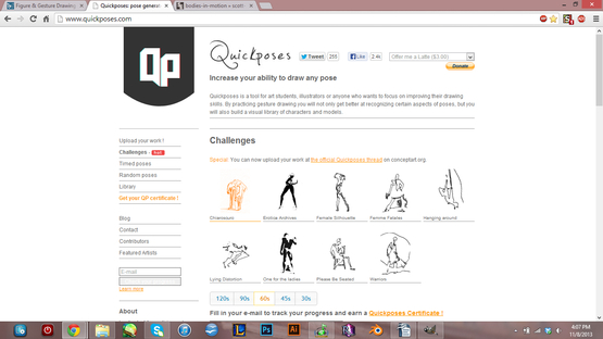 <strong>Quickposes</strong><br />