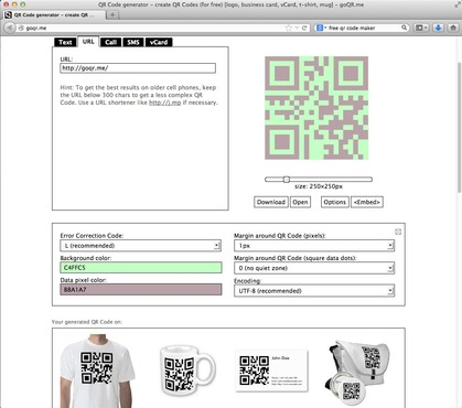 <strong>Customize the Look of the QR Code</strong><br />