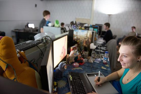 Working Desk Design Office