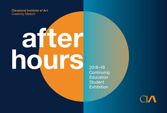 After hours exhibition postcard