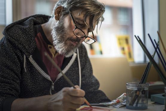 Artists Auction: a Dan Tranberg Memorial Scholarship Benefit