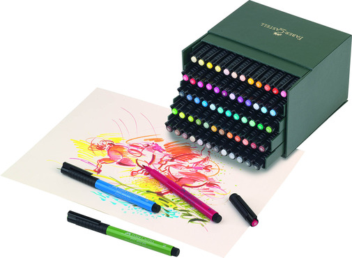 The Visual Arts, Digital Arts, Craft, and Interdisciplinary Best in Category winners will receive an Artist Pen Gift Set 60 colors, valued at $247.50, and a Polychromos Color Pencils Tin, valued at $322.50.