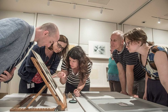 Residents get an exclusive look at rare prints at the Cleveland Museum of Art.