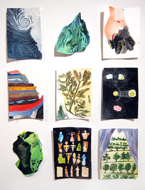 Assorted prints by Christa Donner
