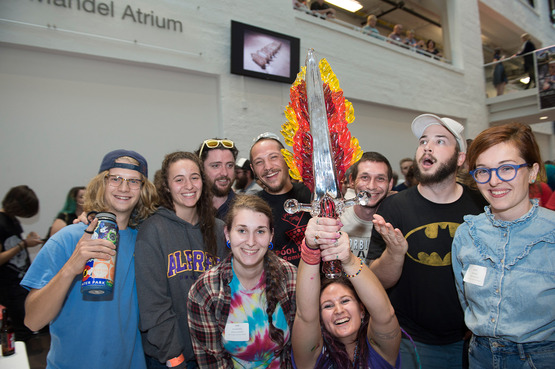 Alfred University takes first place in the Glass Games.