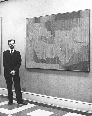 After earning his bachelor of fine arts degree from Cleveland Institute of Art in 1954, Stanczak entered graduate school at Yale, where he studied with esteemed abstractionist and teacher Josef Albers.