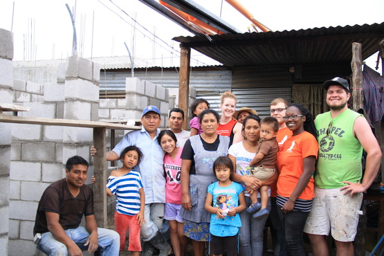 Photo courtesy of Photography major Max Beers, who recently traveled to Guatemala to help build a home for a family in need and create a documentary along the way.