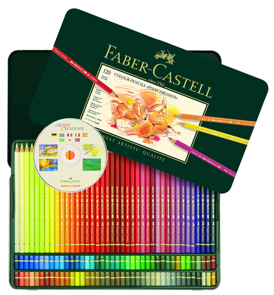 The Visual Arts, Digital Arts, Craft, and Interdisciplinary Best in Category winners will receive a Polychromos Color Pencils Tin, valued at $322.50, and an Artist Pen Gift Set 60 colors, valued at $247.50.