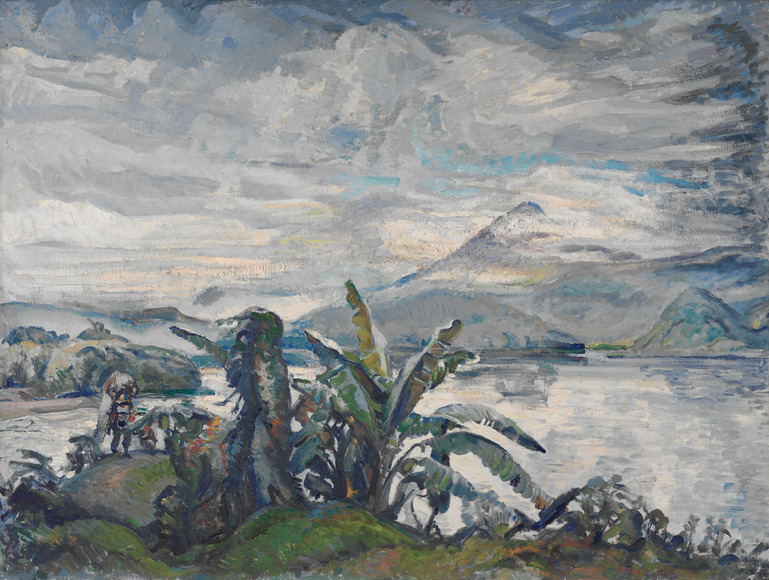 Grace Veronica Kelly '96 (American, 1877-1950). Painter, long-time Plain Dealer art critic; on CIA faculty 1898-1918. Weather in Guatemala (1946). Oil on canvas, 76.2 x 101.6 cm. The Cleveland Museum of Art, Silver Jubilee Treasure Fund 1947.80