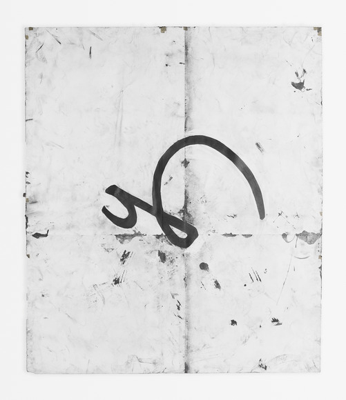 <strong>Pressure</strong><br />Tony Lewis, 2015<br />pencil, graphite powder, and tape on paper. Courtesy of the artist; Shane Campbell Gallery, Chicago; and Massimo De Carlo, London.
