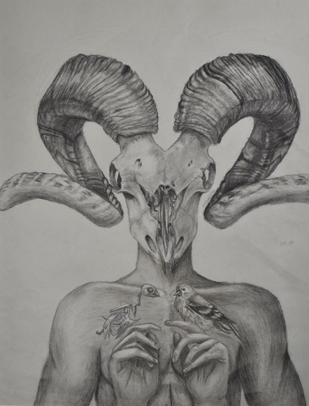 <strong>Almost Symmetry - Honorable Mention, Visual Art</strong><br />Clementine Harvey, Senior<br />Downingtown STEM Academy; Hometown: Downingtown, PA