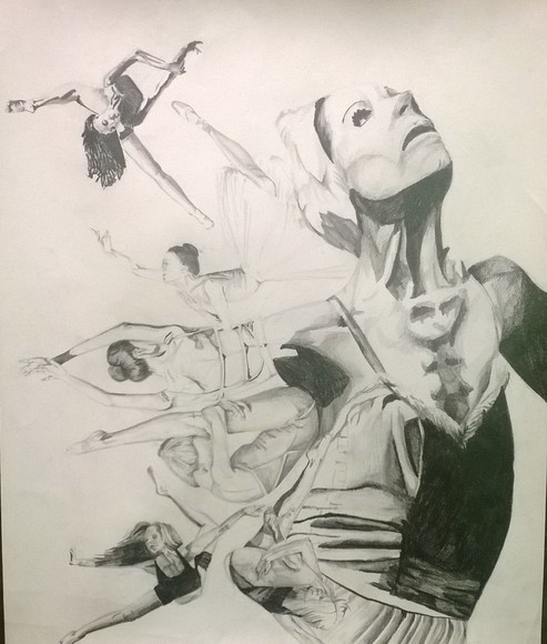 <strong>Ballerina - Honorable Mention, Visual Arts Category</strong><br />Emma Lewis, Sophomore<br />All Saints Episcopal School; Hometown: Tyler, TX