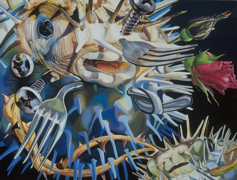 <strong>Blow Fish - Honorable Mention, Visual Arts Category</strong><br />Hyeong Geun Song, The Heights School - Potomac, Maryland