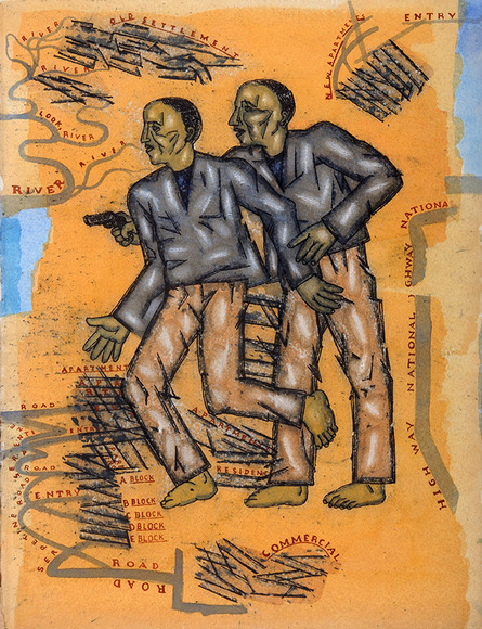 <strong>Boys</strong><br />Arpita  Singh, 2012, Courtesy of the artist and DC Moore Gallery<br />