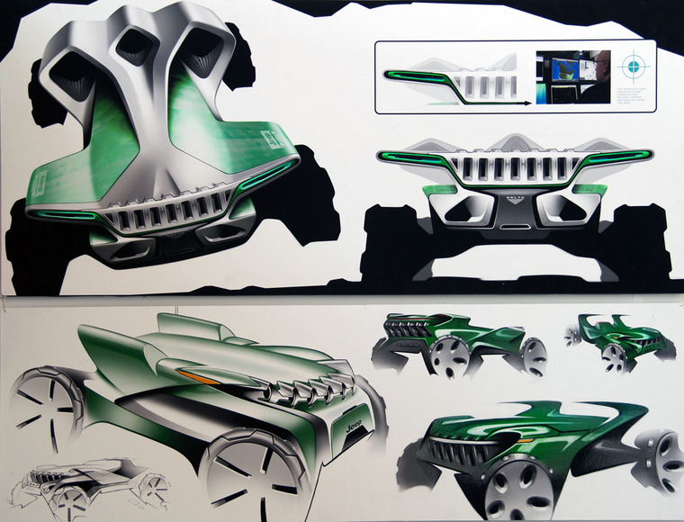 <strong>2050 Jeep Delta (Recon)</strong><br />Chris Mikalauskas, 2013<br />
