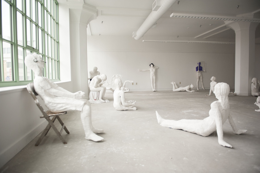 <strong>Plaster Casts</strong><br />Assorted Students, 2014<br />