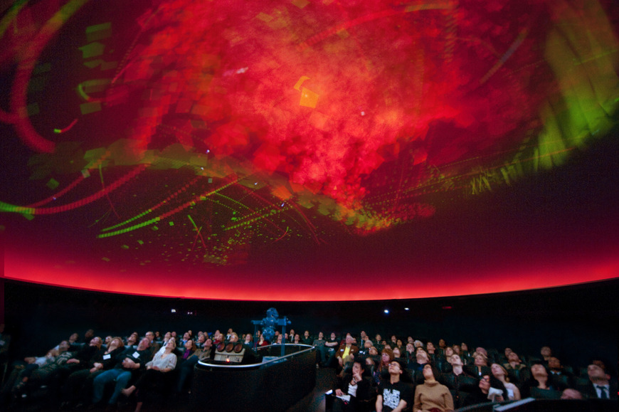 Every couple of years, CIA students partner with Cleveland Institute of Music students, and create an animation to an original musical score, screened at the world-class Planetarium at the Cleveland Museum of Natural History.