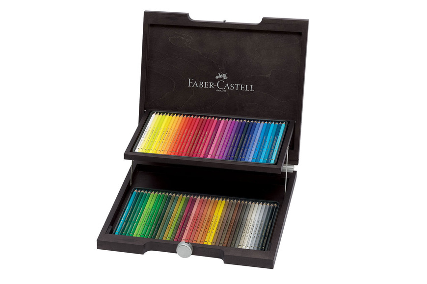 Best in Show category prize: Color Pencil Polychromos wood case of 72; valued at $531.25.