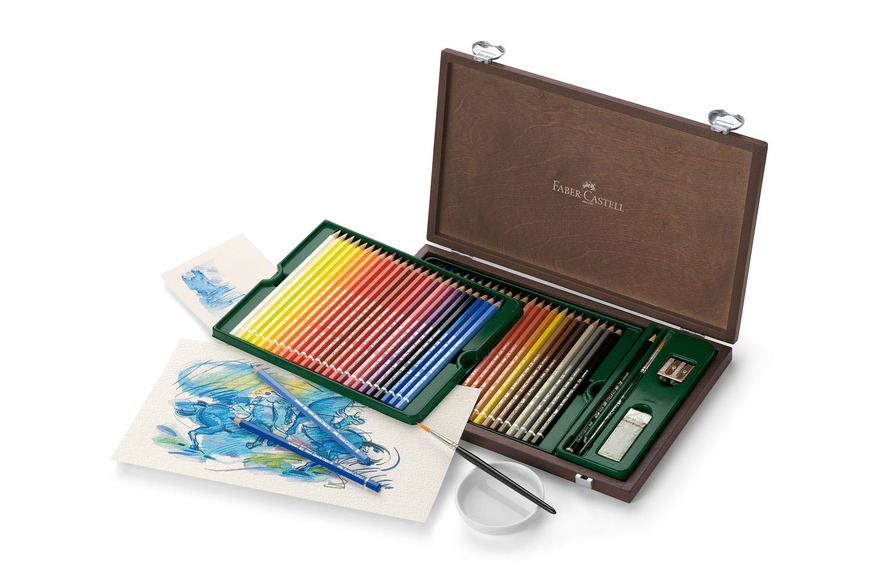 Design category prize: Watercolor pencil Albrecht Dürer wood case of 48; valued at $247.75.