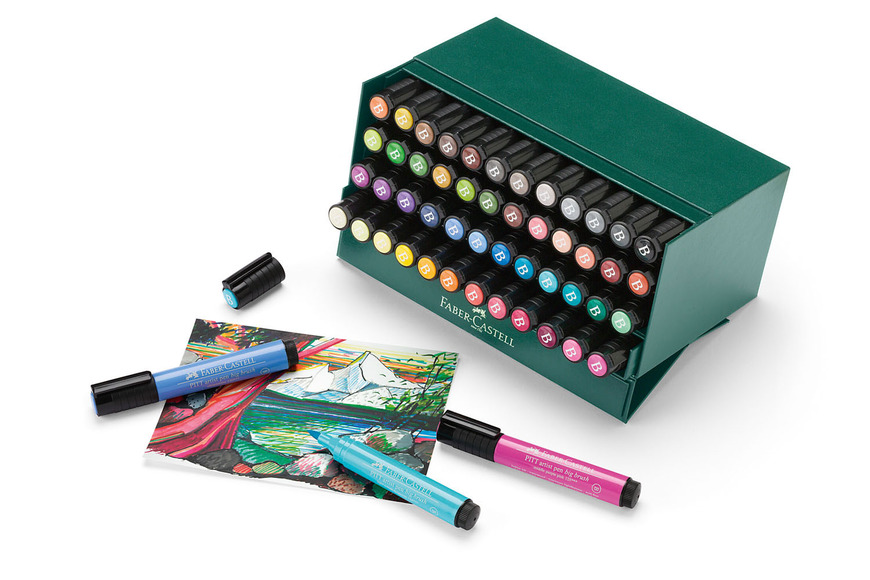 Visual Arts and Integrated Media category prizes: PITT Artist Pen big brush gift set 48 colors; valued at $290.00.