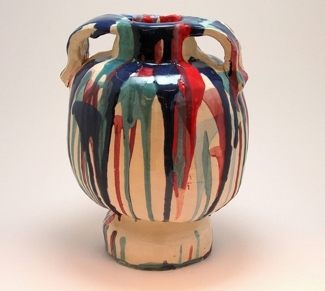 <strong>Handbuilt Vase - Honorable Mention, Craft Category</strong><br />Charles Horton, University School - Hunting Valley, Ohio