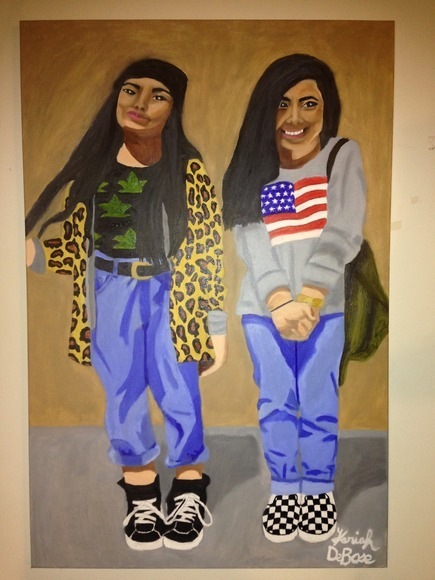 <strong>Hipster Chicks - Honorable Mention, Visual Arts Category</strong><br />Kariah  DeBose, Senior<br />Cousino; Hometown: Warren, MI