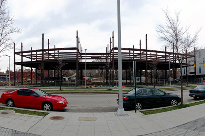 <strong>CIA's new residence hall: April 15, 2013</strong><br />