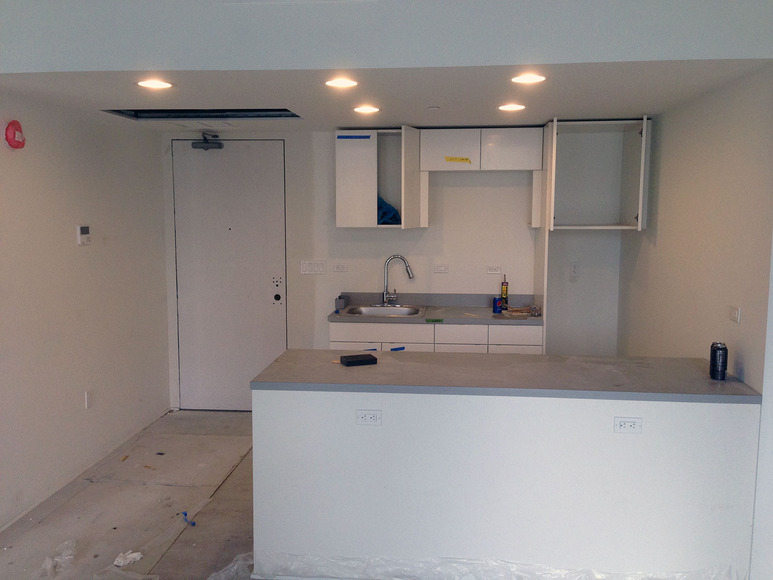 <strong>New Hall Kitchenette May 2014</strong><br />, May 2014<br />