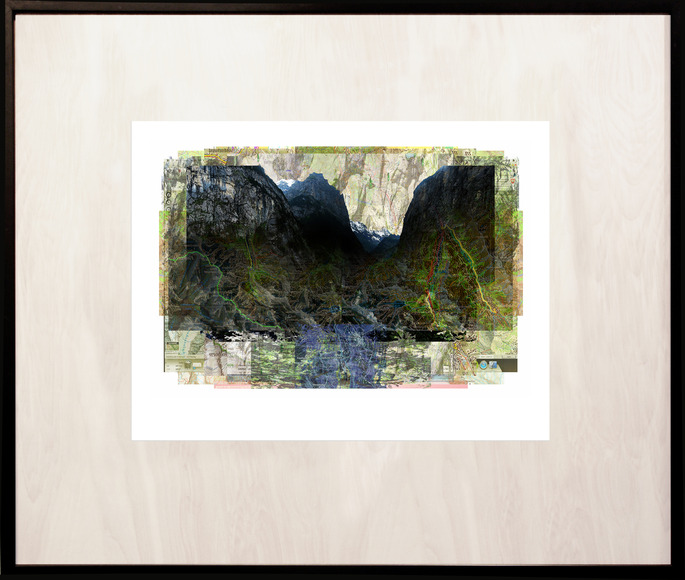 <strong>LAUTERBRUNNEN</strong><br />George Kozmon, 2017<br />archival pigment print on Stonehenge paper, image size 17&quot; x 22&quot;