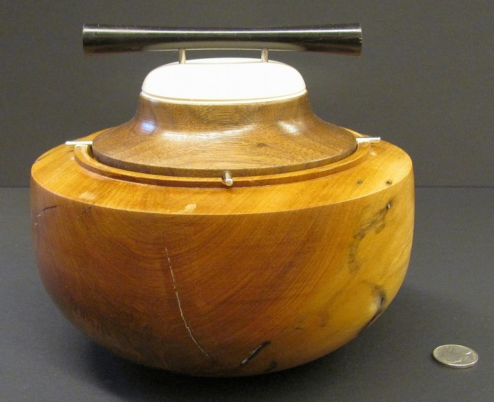 <strong>Lidded Box - Best in Category: Craft</strong><br />Richard Bodner, University School - Shaker Heights, Ohio