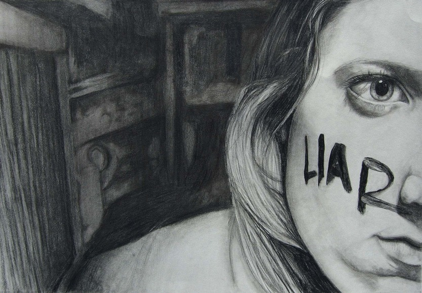 <strong>Lindsey's a Liar - Honorable Mention, Visual Arts Category</strong><br />Jordan Szala, Lyons Township High School - La Grange, Illinois