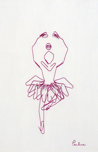 <strong>Paper Clip Dancer - Honorable Mention, Craft Category</strong><br />Paulina Vallina, Tec de Monterrey Prep School - El Paso, Texas