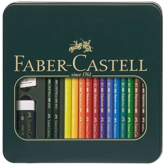 All Best in Category winners will also receive a Tin box Mixed media Polychromos & Castell 9000 artists' pencils; valued at $47.25.
