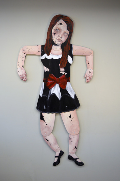 <strong>Puppet - Honorable Mention, Visual Arts Category</strong><br />Savannah Ralph, Junior<br />Fine Arts Center; Hometown: Greer, SC