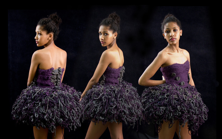<strong>Purple Ballerina - Honorable Mention, Craft Category</strong><br />Redat Davison, Pius XI High School - Milwaukee, Wisconsin