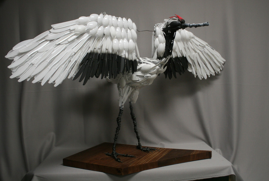 <strong>Red Crowned Crane - Honorable Mention, Visual Arts Category</strong><br />Zhexin Jiang, Senior<br />Creekview High School; Hometown: Carrollton, TX