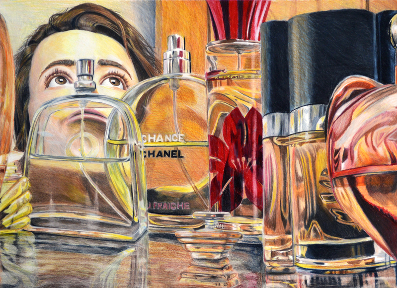 <strong>Seeking Refuge - Honorable Mention, Visual Arts Category</strong><br />Hannah Rodgers, Sophomore<br />Wade Hampton High School; Hometown: Taylors, SC