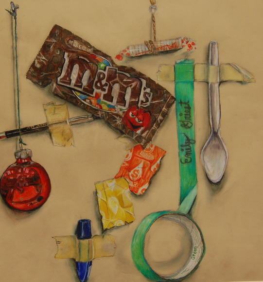 <strong>Slight Sweet Tooth - Honorable Mention, Visual Arts Category</strong><br />Emily Griest, Warwick High School - Lititz, Pennsylvania