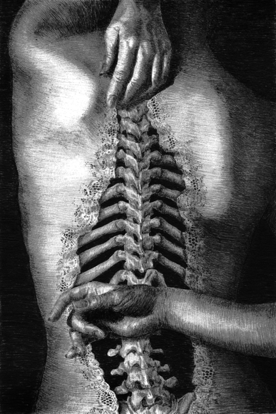 <strong>Spine - Honorable Mention, Visual Arts Category</strong><br />Megan Newcomer, Linganore High School - Frederick, Maryland