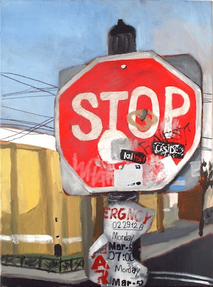 <strong>Stop Simplicity - Honorable Mention, Visual Arts Category</strong><br />Christian Caraballo, Jersey City Arts HS - Jersey City, New Jersey
