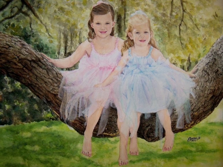 <strong>Tree Fairies - Honorable Mention, Visual Arts Category</strong><br />Rebecca Parrish, Junior<br />Trinity Christian Academy; Hometown: Jacksonville, FL