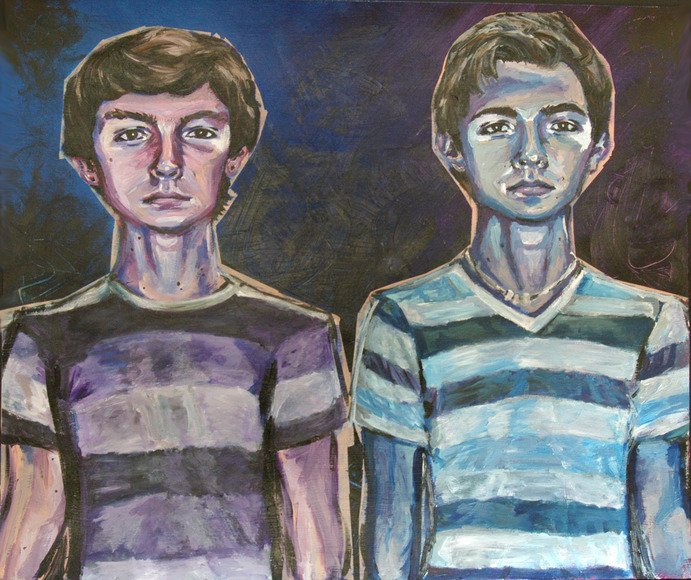 <strong>Twins - Honorable Mention, Visual Arts Category</strong><br />Diane Hoffman, Senior<br />Ross High School; Hometown: Hamilton, OH