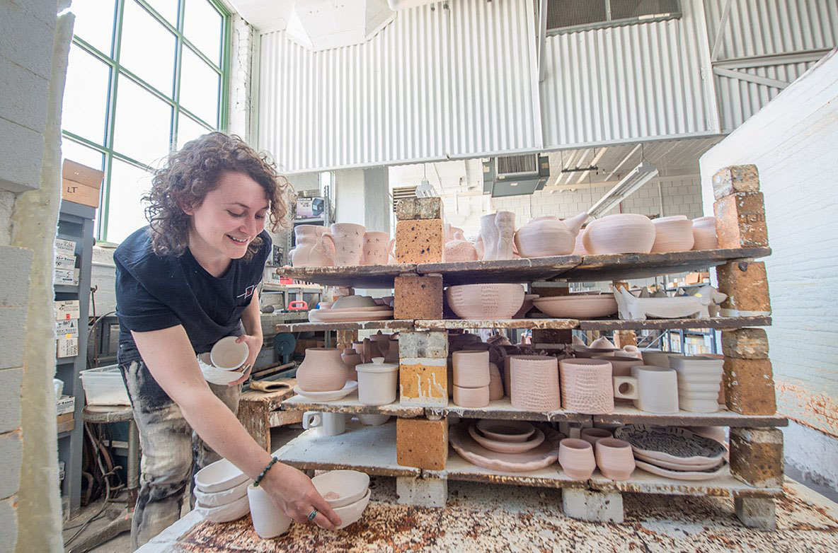 Ceramics student feels pull towards art