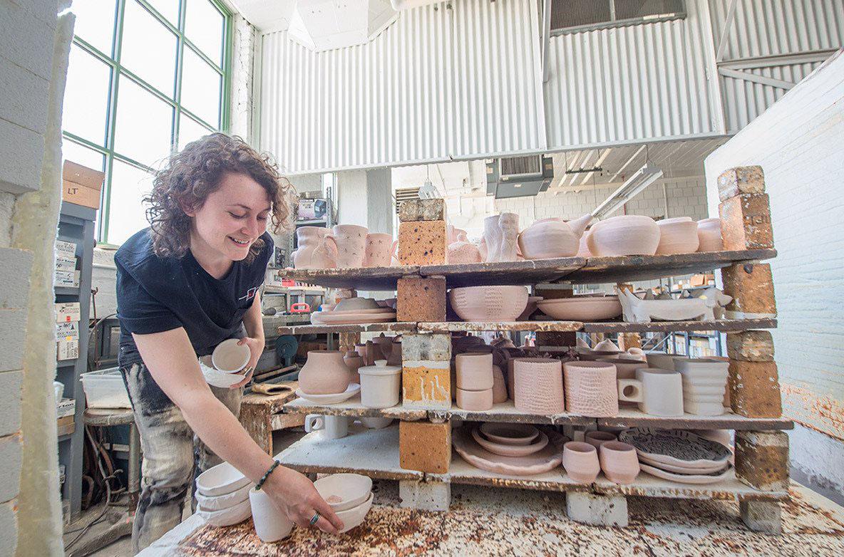 Ceramics student feels pull towards art