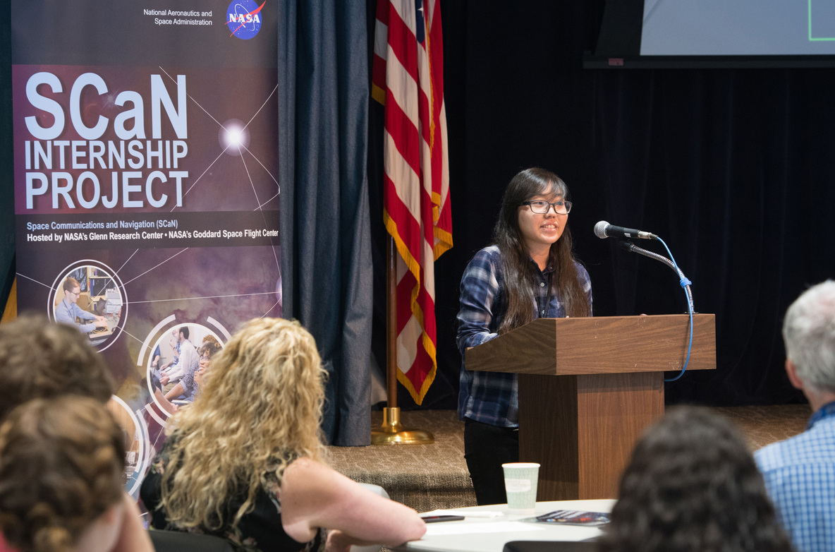 Sara Horoiwa at NASA