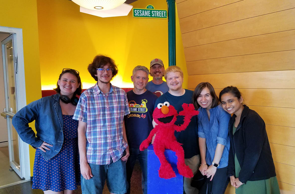 group shot from Sesame Workshop